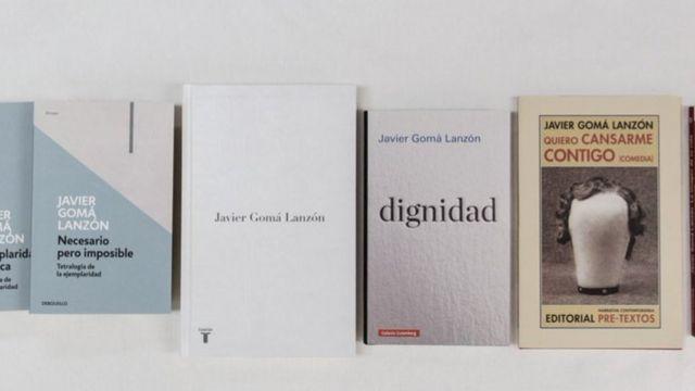 Libros de Javier Gomá.