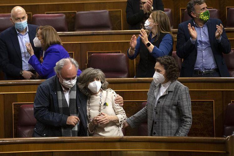 La diputada del PSOE Mar