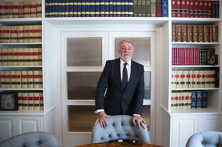 El ex ministro del Interior Jaime Mayor Oreja, en una imagen de 2019.