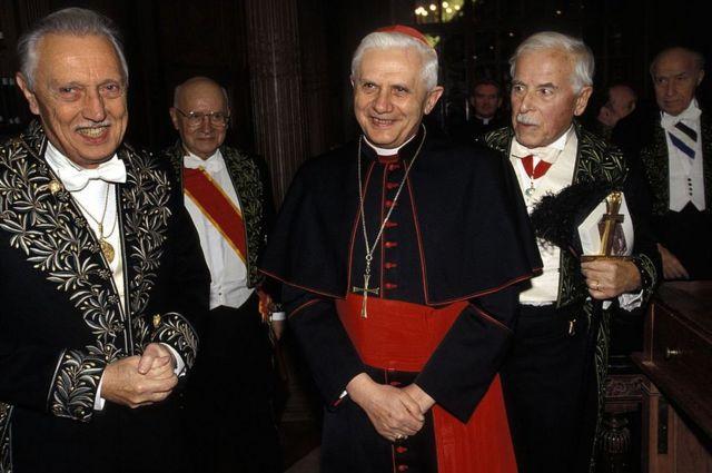 Lejeune y Joseph Ratzinger