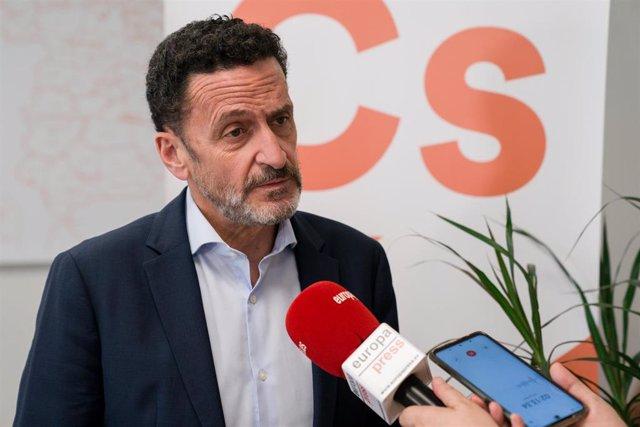 En portavoz adjunto de Ciudadanos, Edmundo Bal, en declaraciones a Europa Press